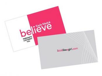 Kayla Meduk - Business Cards by CP Business Solutions Inc