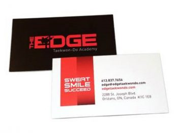 The Edge - Business Cards by CP Business Solutions Inc
