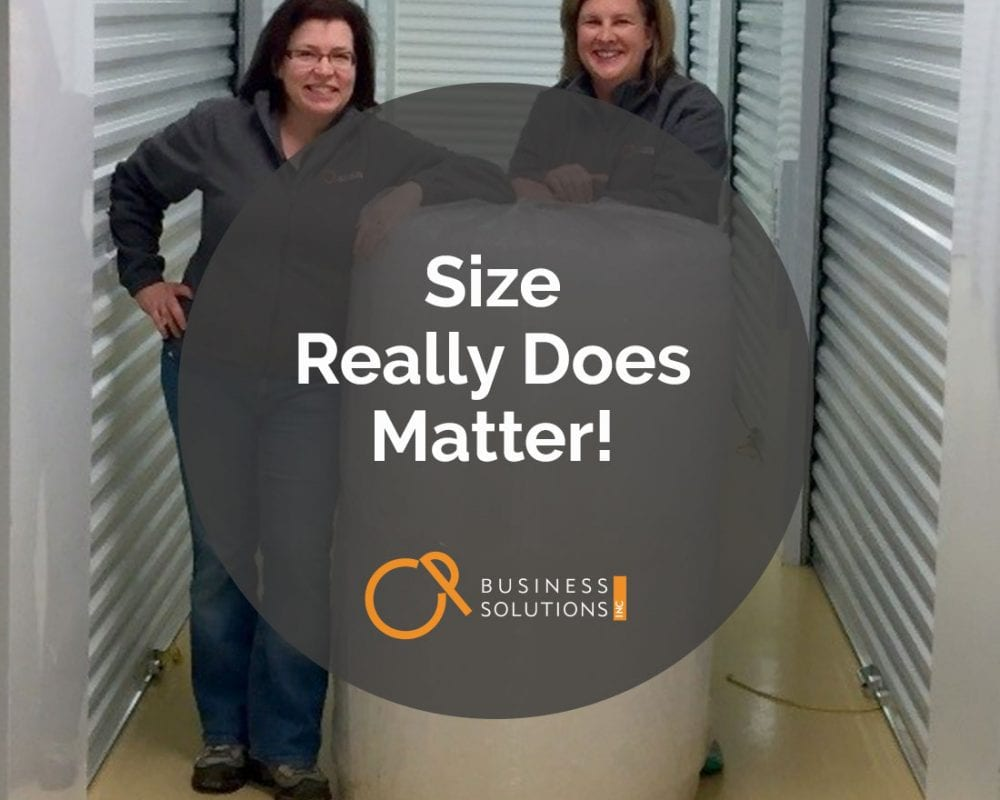 Size Really Does Matter!
