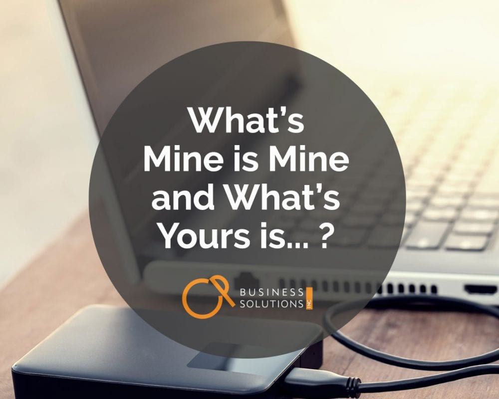 File Ownership: What's Mine is Mine and What's Yours Is…