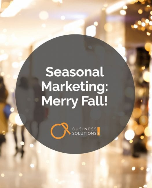Seasonal Marketing - CP Business Solutions