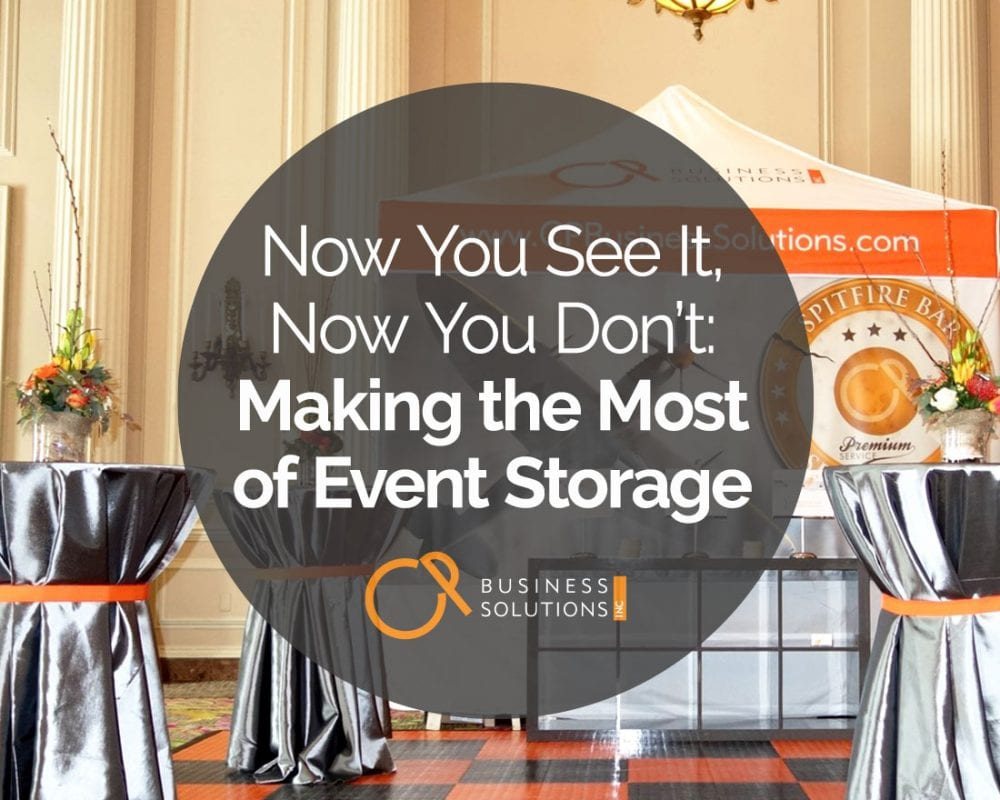 Now You See It, Now You Don't: Making the Most of Event Storage