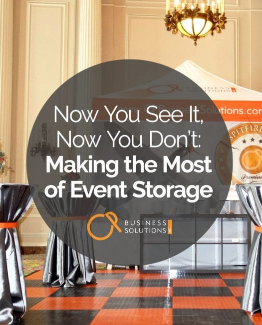 Now You See It, Now You Don't: Making the Most of Storage - CP Business Solutions